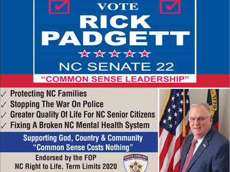 Endorsed by Fraternal Order of Police