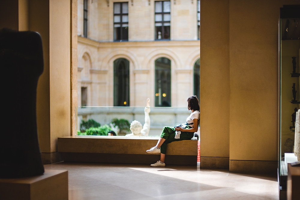 Voyage - musée - contempler - prendre son temps - profiter du moment présent- focus
