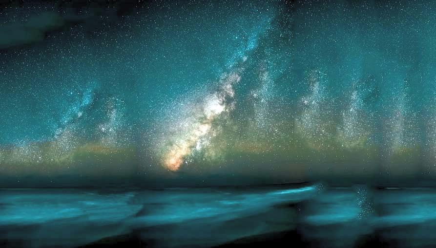 Ciel étoilé - L'imprévu dans un voyage est l'ingrédient secret pour un voyage inoubliable