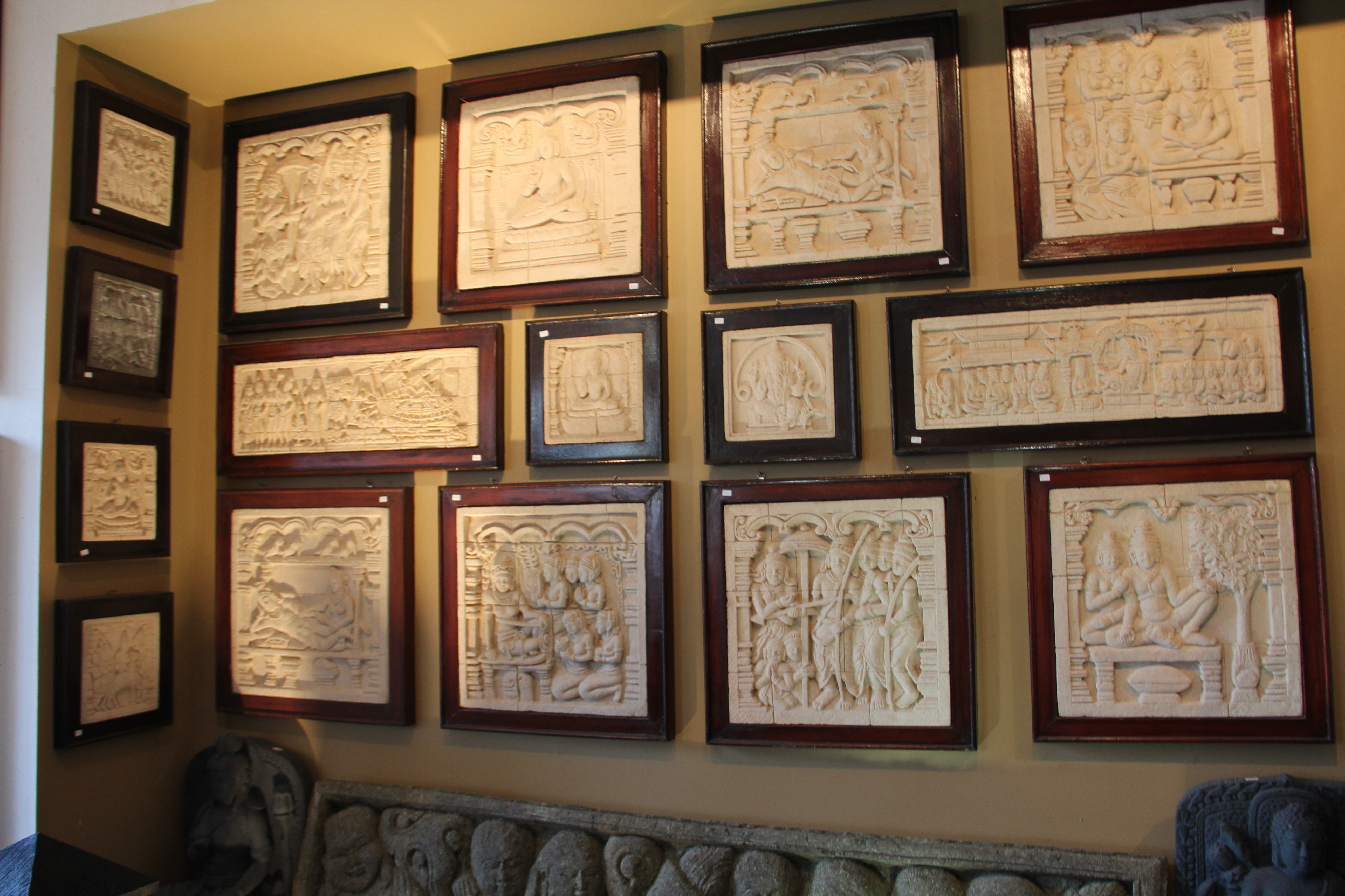 Sand Stone Relief Carvings