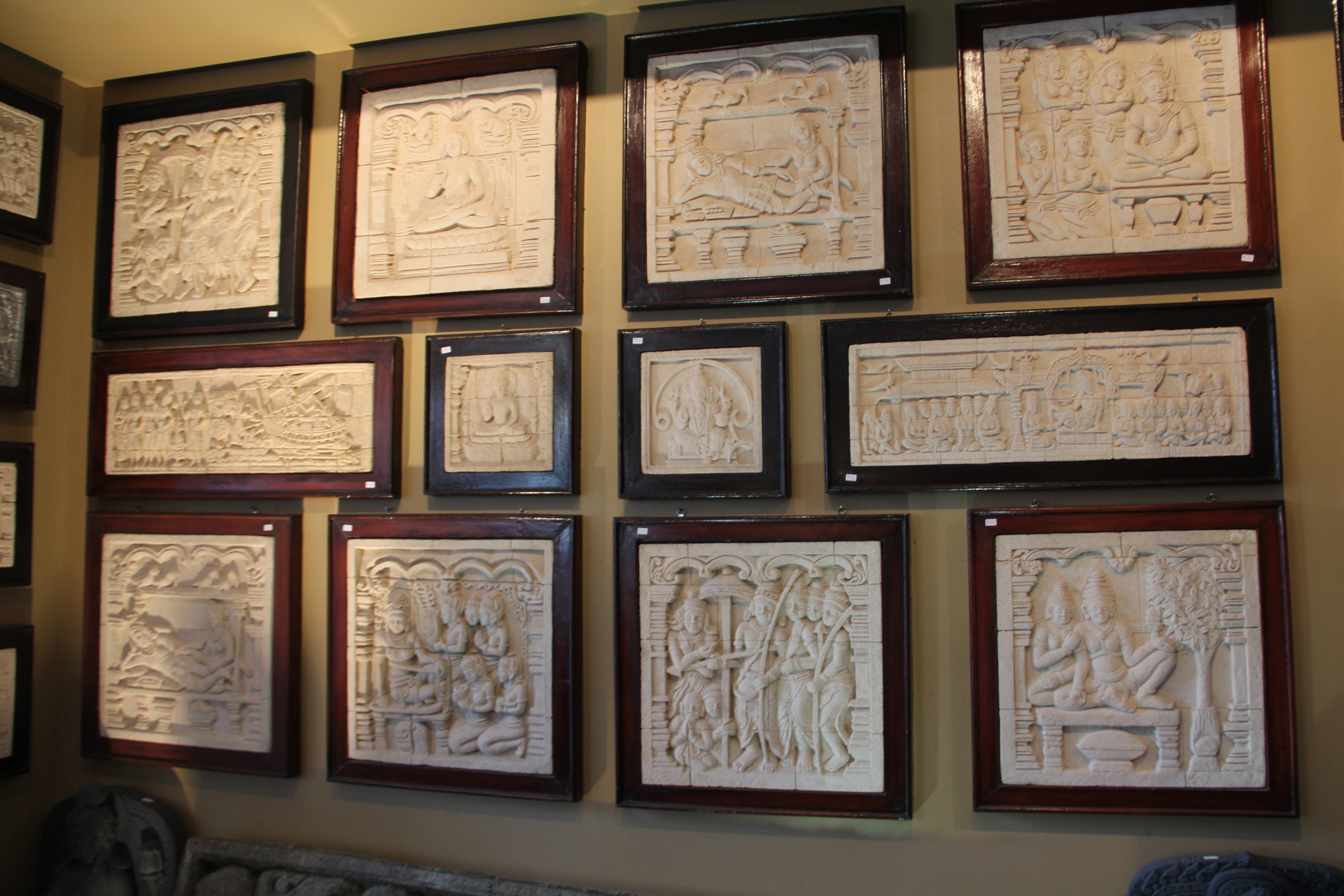 Stone Relief Carvings