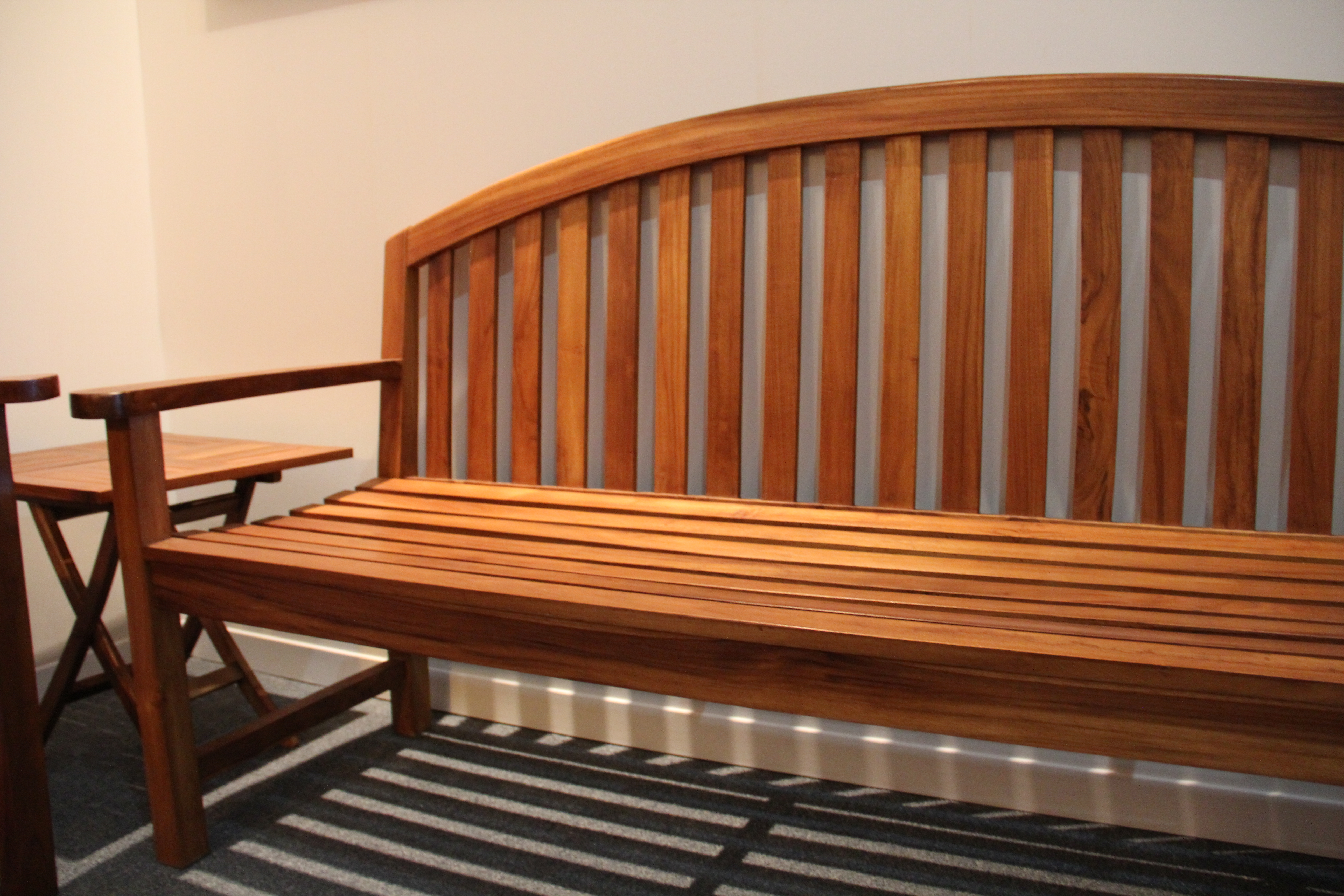 Solid Teak Bench Available in store