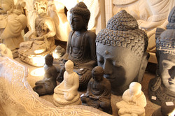 A selection of Stone Buddhas