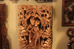Hindu God Relief Carving