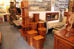 Samurai Shelf and Oval Drawers