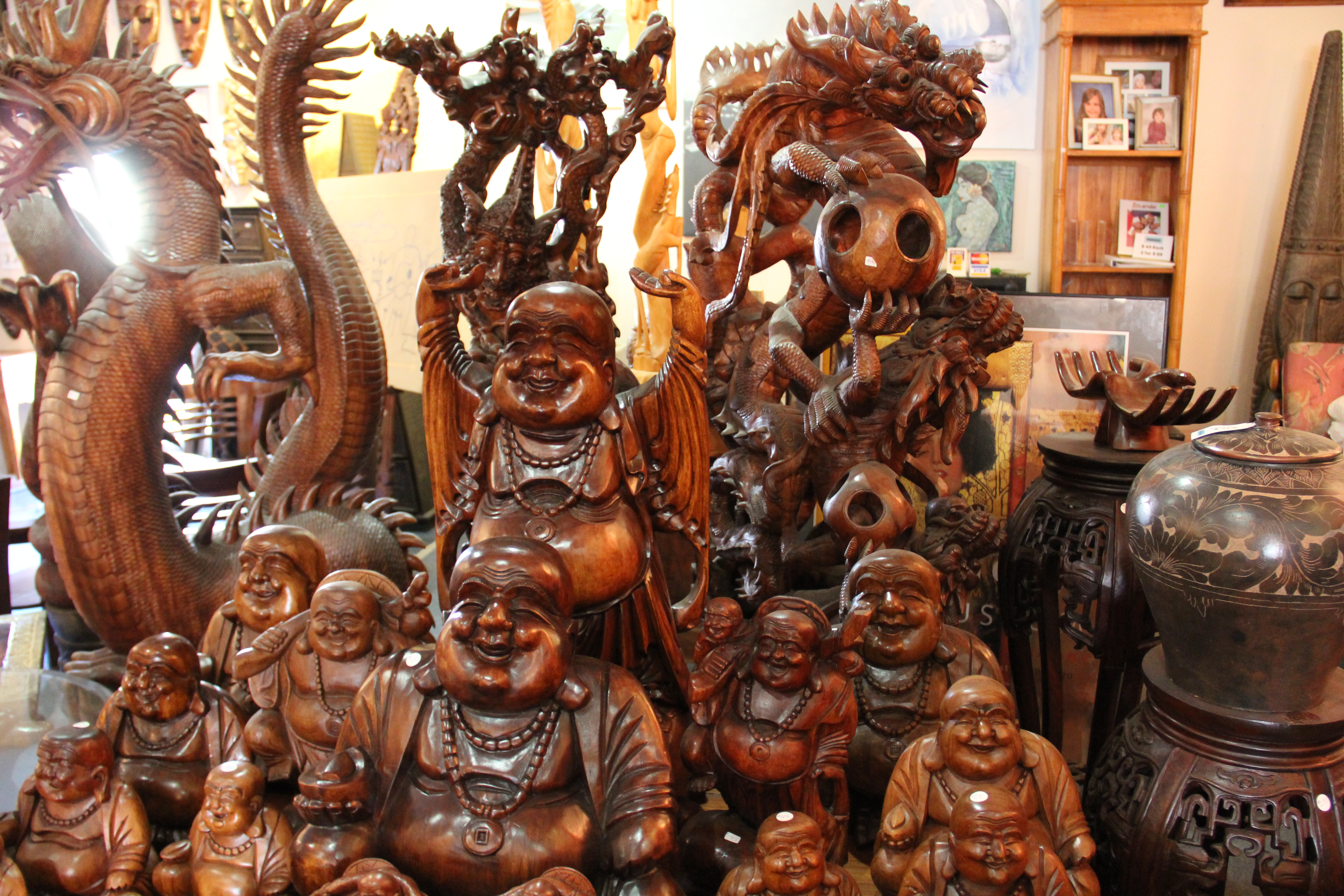 Assortment of Buddha Figures