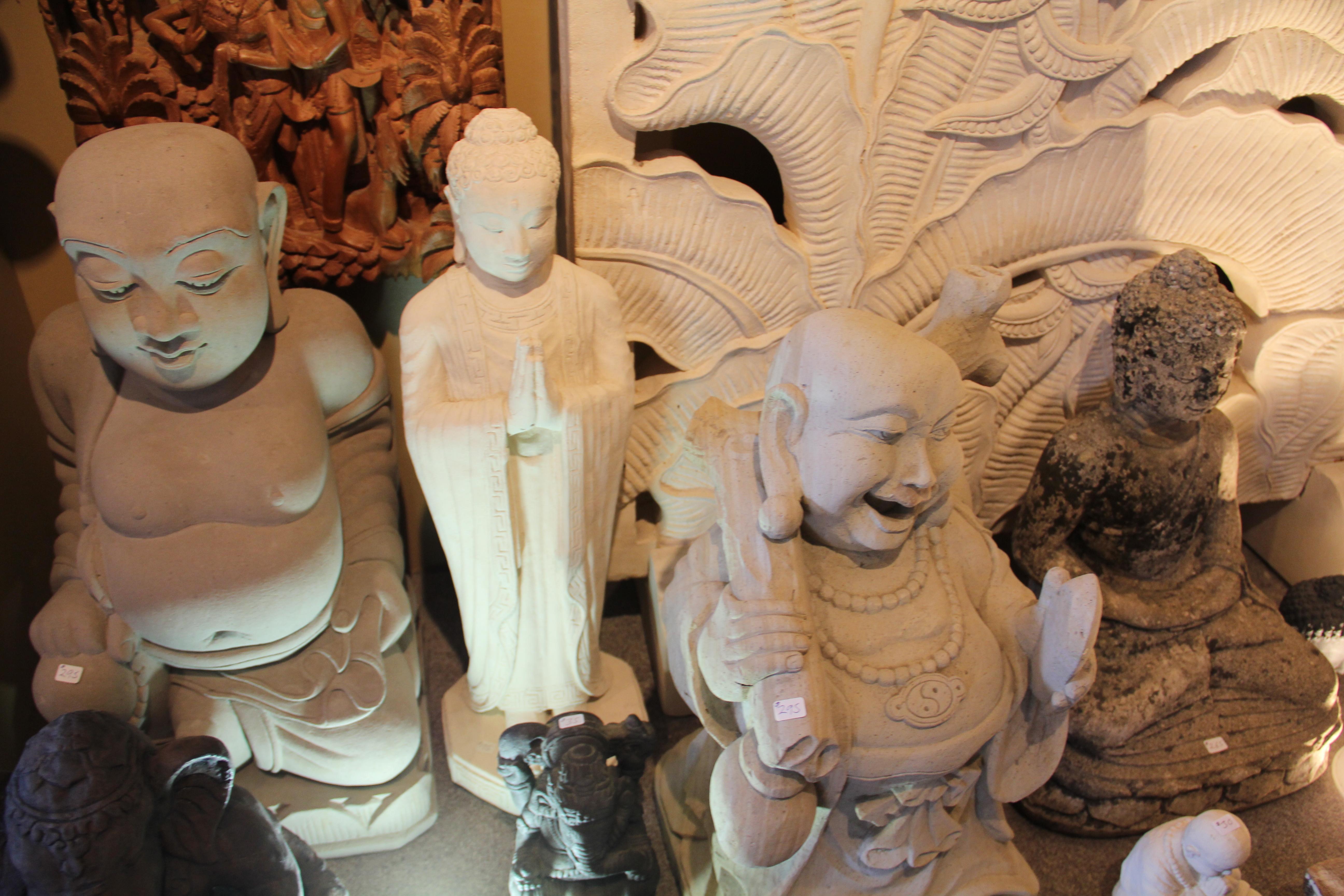 Various Stone Carvings