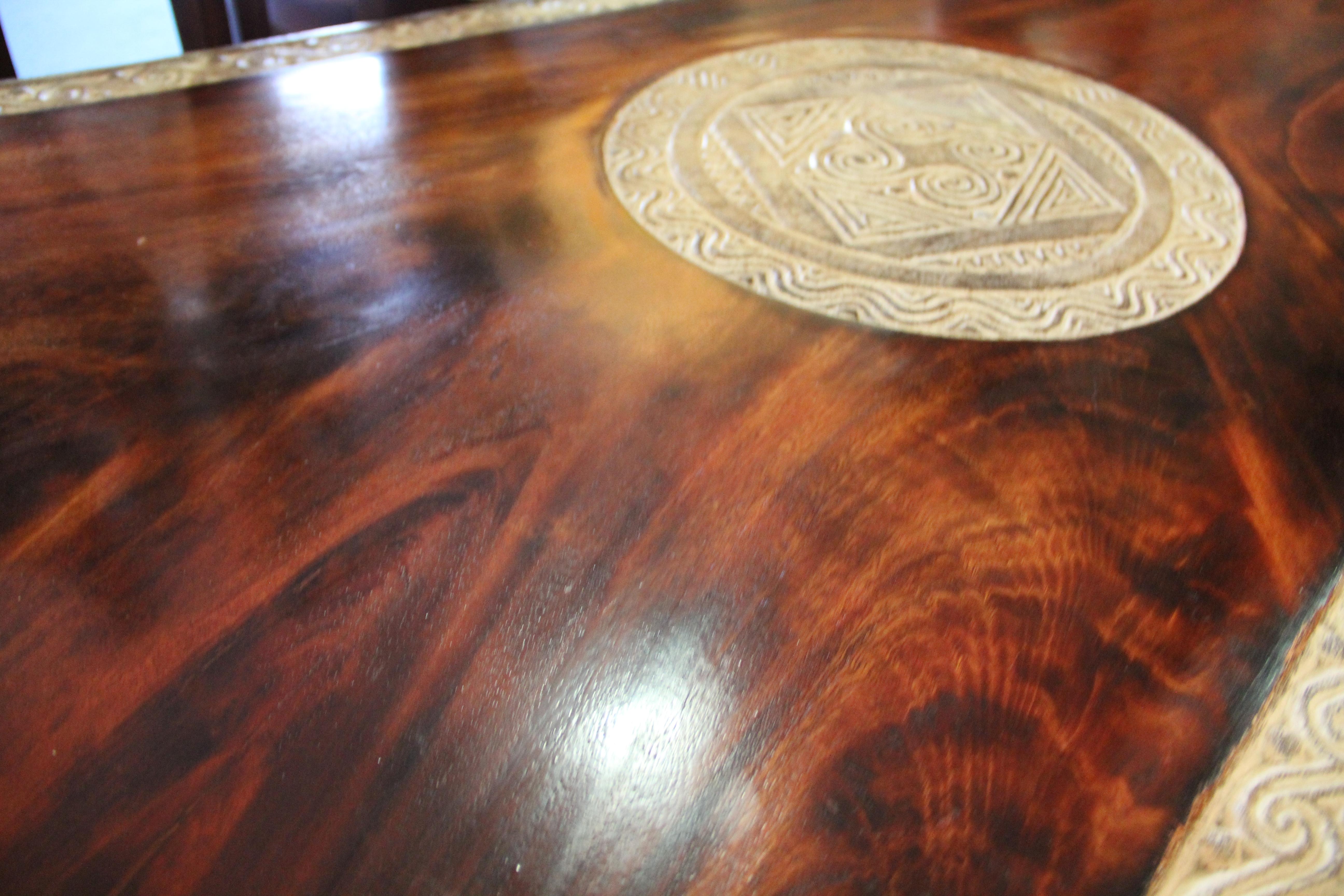 Holland Teak Living Edge Coffe Table