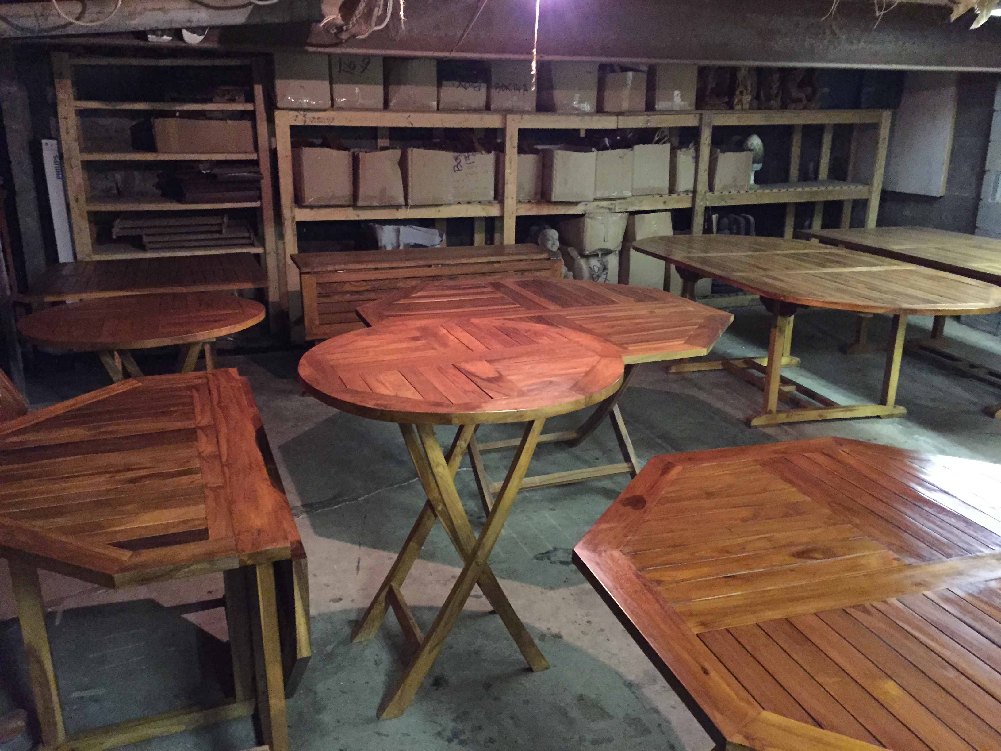 Various Patio Tables