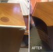 armoir stain repaired