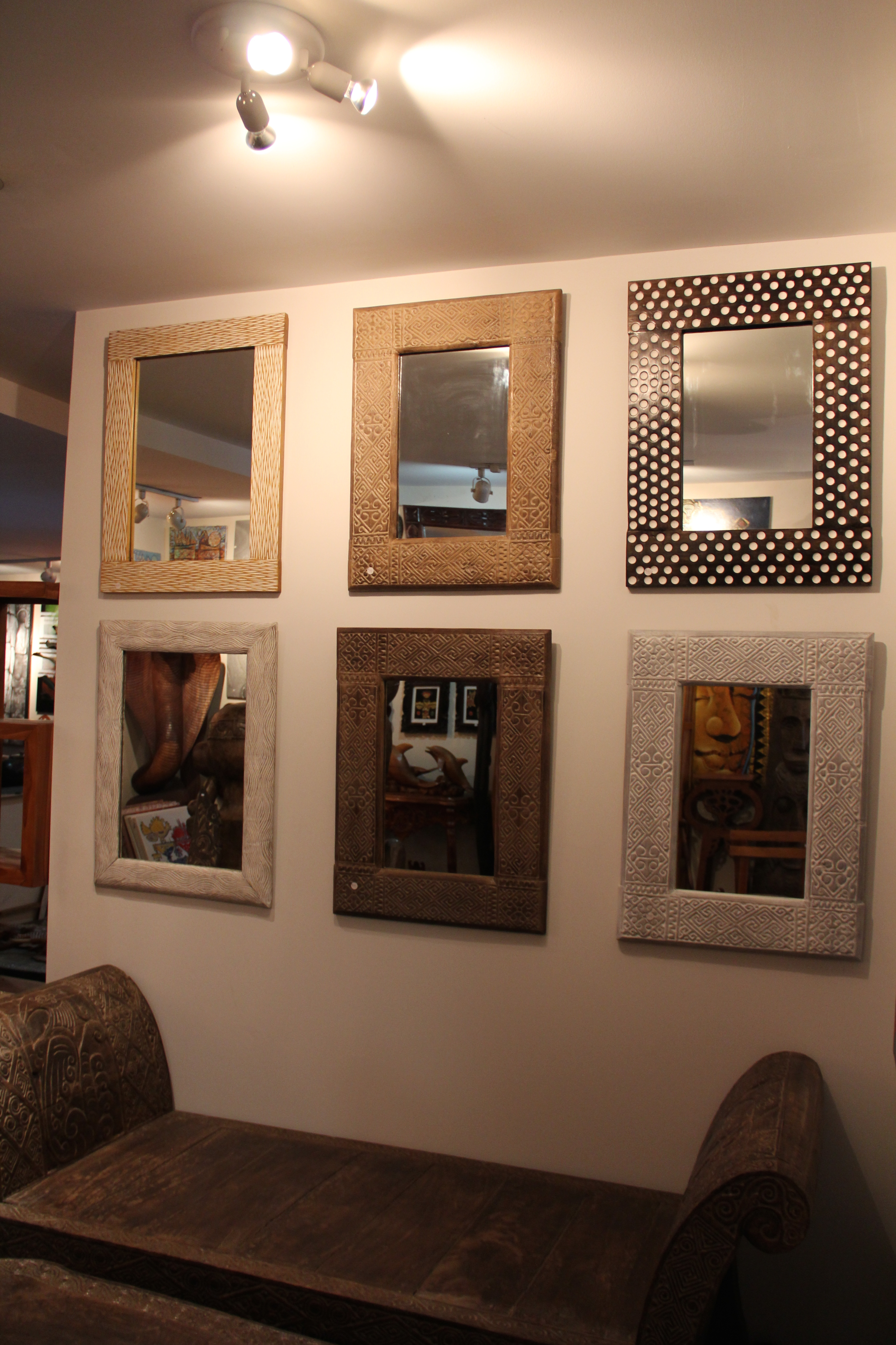 One of a kind mirrors for all
