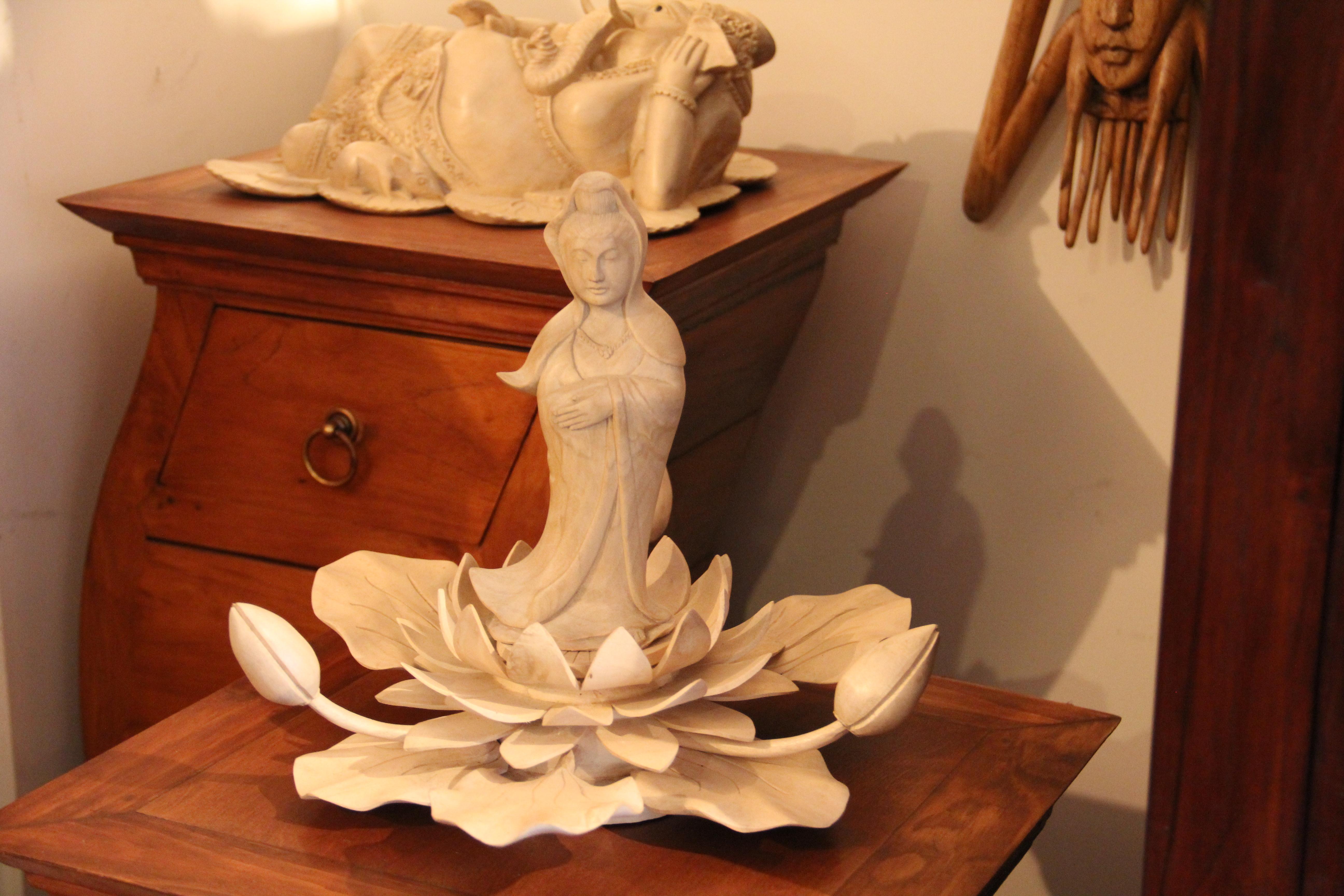 Lakshmi Carving