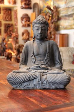 Lava Stone Buddha