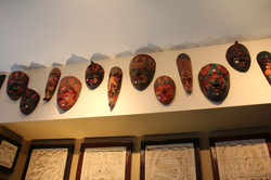 A selection of Tribal Masks