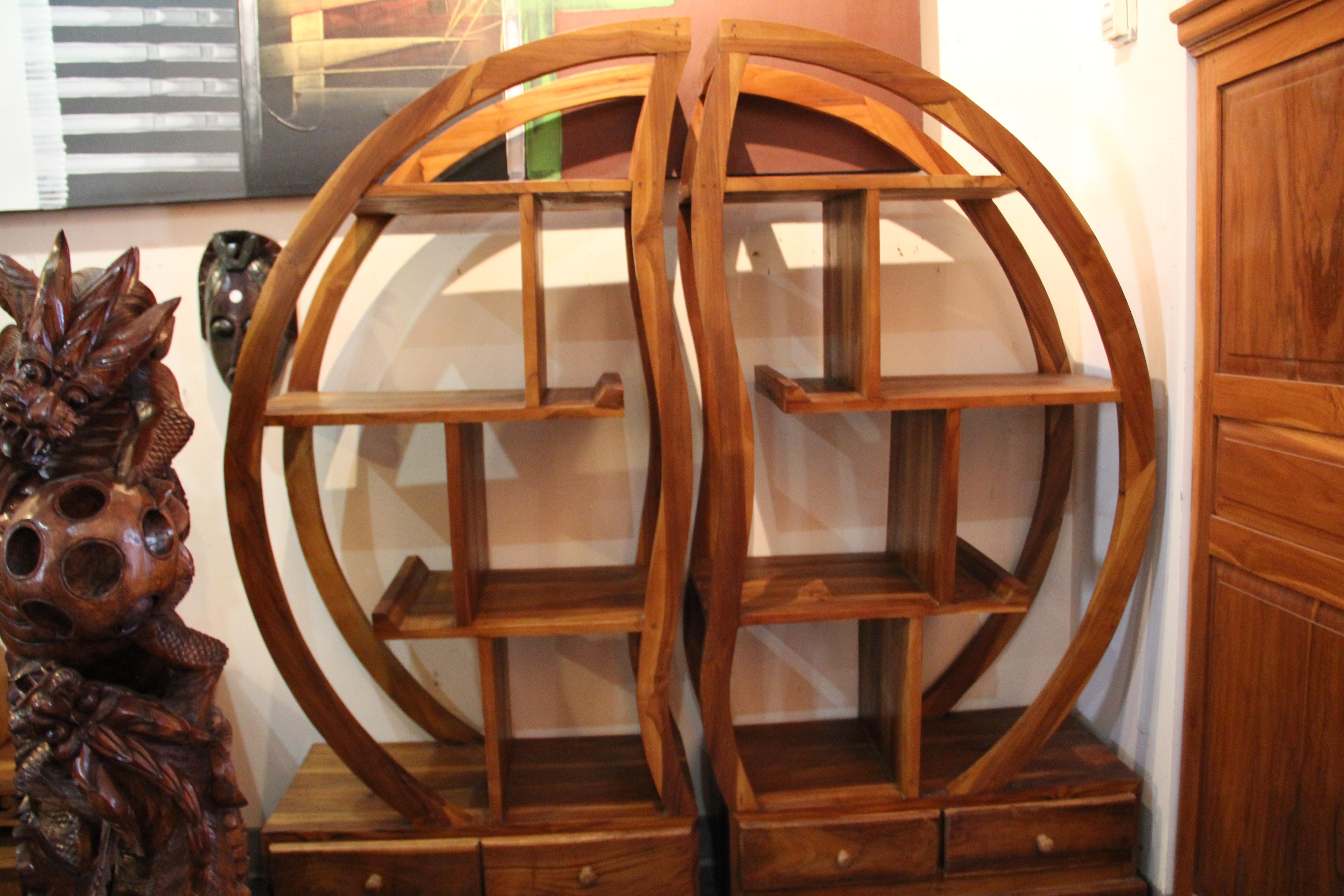 Ying-Yang Shelves