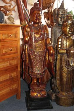 Hindu Buddha Carving