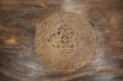 Primitive Pattern Coffee Table