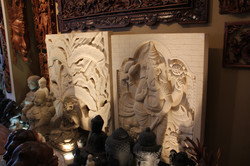 Massive Stone Relief Carvings