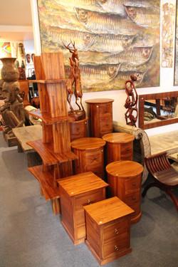 Samurai Shelf Oval drawers