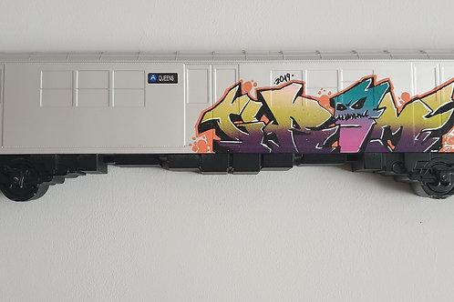 NYC custom subway car