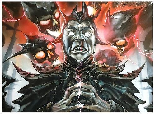 Sorcerer, Acrylic on canvas (610x460mm)