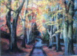 Autumnal Path (Old Town Gardens) - Lisa