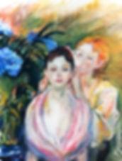 Berthe Morisot 1841-95 The Hydrangea (Th
