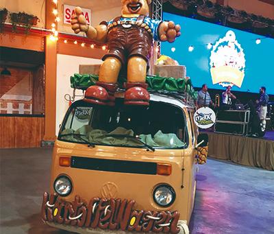 Max Wilhelm e Kartoffelwagen estabelecem parceria para a Oktoberfest!