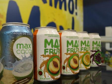 Max Coco e Max Fruta muito mais hidratação no seu dia!