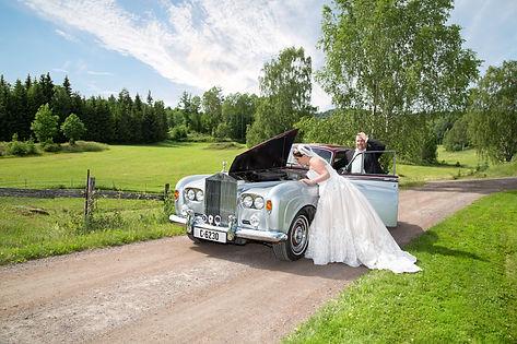 Spesielt bryllupsbilde. Norge beste fotograf