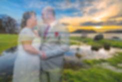 Spesielt bryllupsbilde tatt av fotografen Atle Slettingdalen
