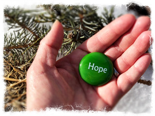THE ART OF HOLDING HOPE