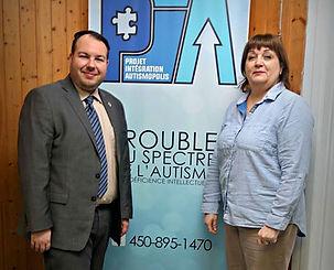 Dave Turcotte et Projet Intégration Autismopolis