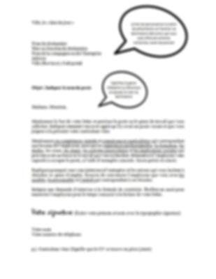 Autisme - Lettre de présentation - Projet Intégration Autismopolis