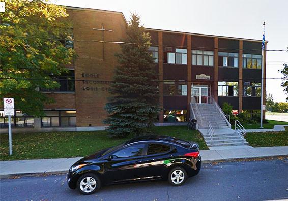 École Louis-Cyr - Napierville