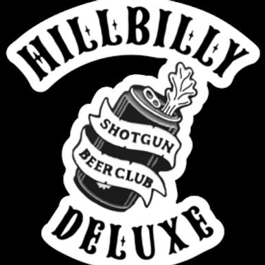 SHOTGUN BEER CLUB STICKER