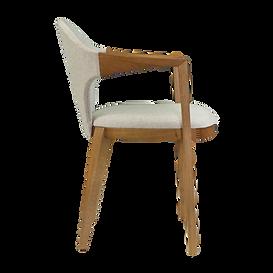 Cadeira Fronteira Tapeçada com braço - M