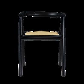 Cadeira Eva - Ebanizado - Palha Frize Na