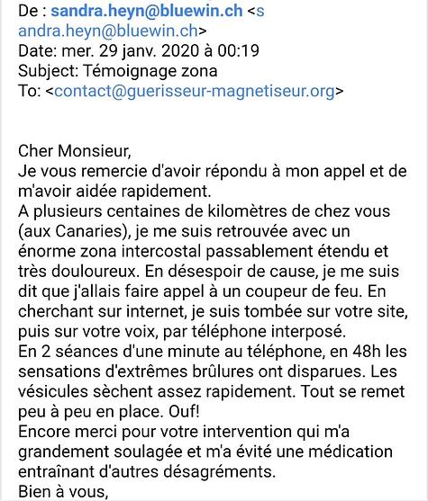 Temoignage JM Marçais Guerisseur Magnetiseur Coupeur de feu