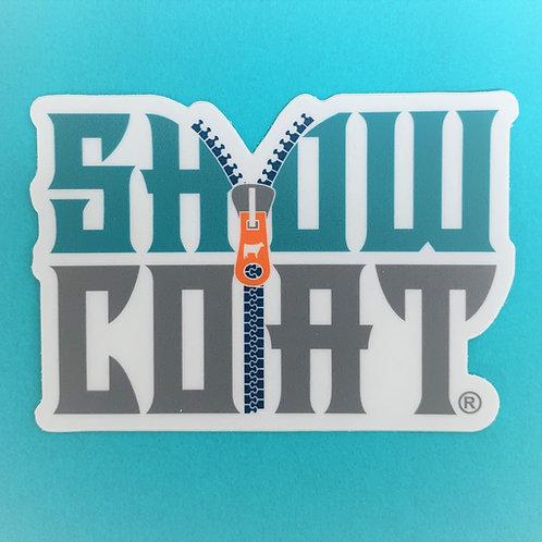 ShowCoat Die Cut Bumper Sticker