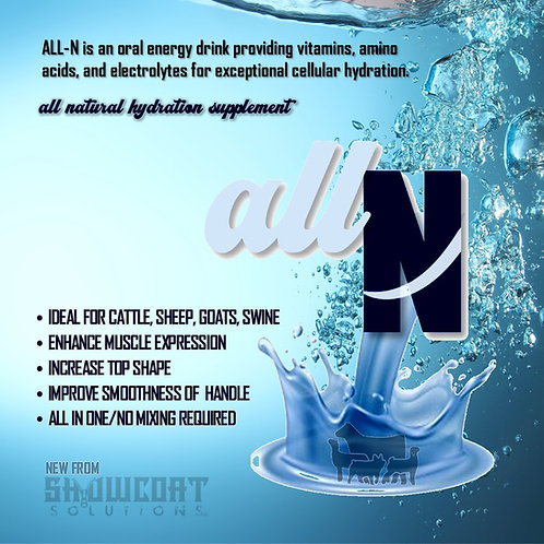 All N - all natural hydration supplement