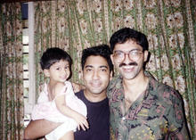with ramanan uncle.