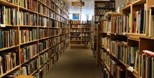school library.