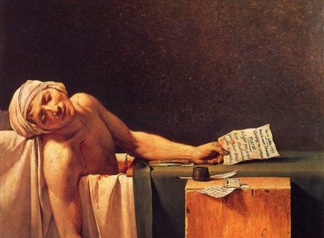 "A Brief Retelling of ""The Persecution and Assassination of Jean-Paul Marat As Performed by the"