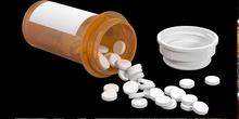 mountains of pills.