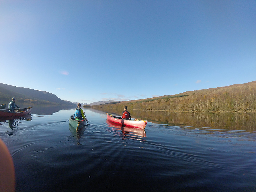 Amazing Open Boating conditions on Loch Arkaig