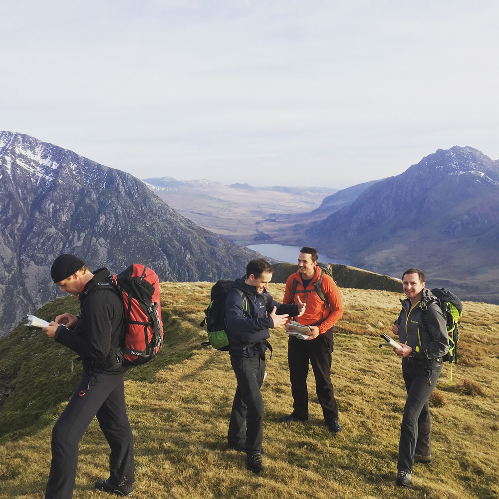 Navigation check up for aspiring Mountain Leaders