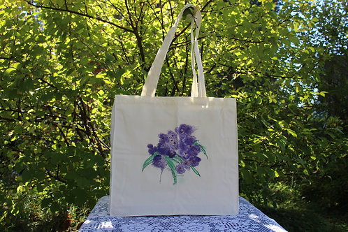 Canvas Tote Bag - Crocus