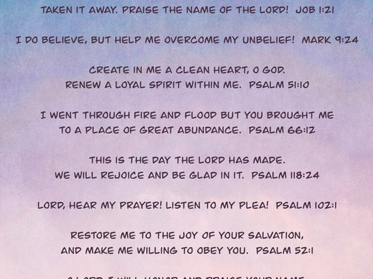Talking to God... Prayers on the Go!