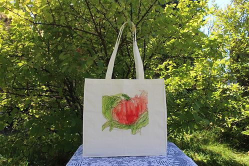 Canvas Tote Bag - Pumpkin Patch